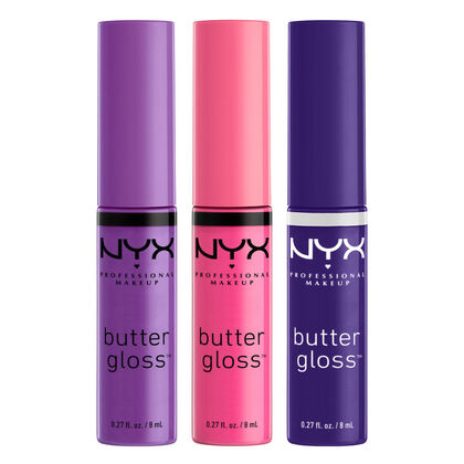 Set de 3 Butter Gloss n°8