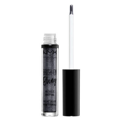 Brush On Bling Metallic Brow Gel